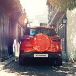 Форд Экоспорт сзади