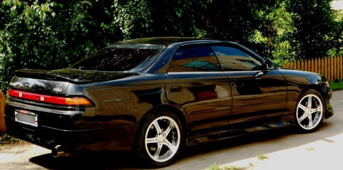 Тойота марк 2 фото черный кузов
