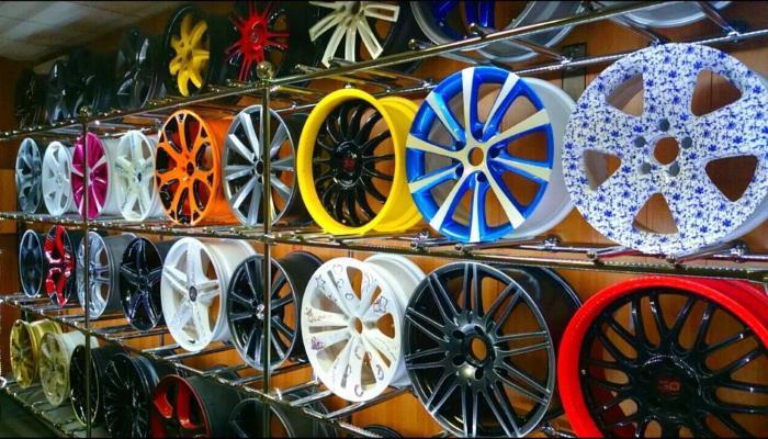 тюнинг колесных дисков