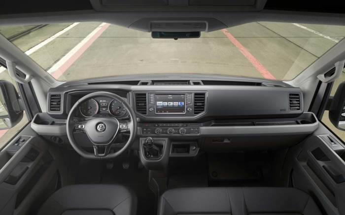 salon-Volkswagen Crafter-2017