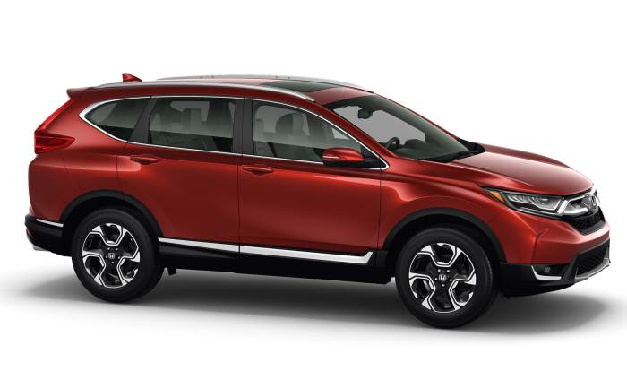 new-Honda CR-V 2017