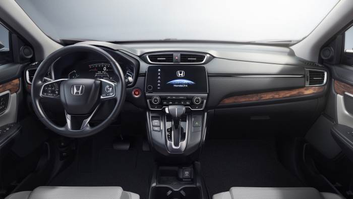 salon-Honda CR-V 2017
