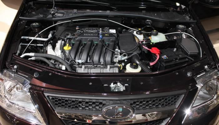 Какой двигатель стоит на ларгусе 16 клапанном