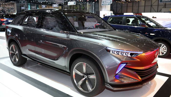 SsangYong электрокар