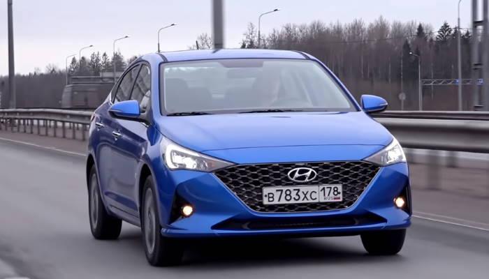 Хендай Солярис 2020 новый кузов вид спереди