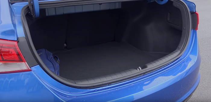 Фото багажника Хендай Солярис 2020 новый кузов