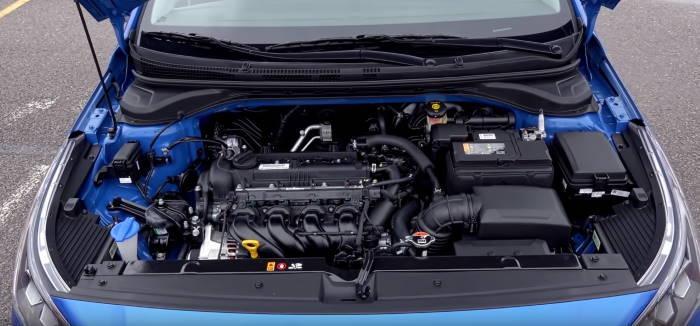 Фото двигателя Хендай Солярис 2020 новый кузов