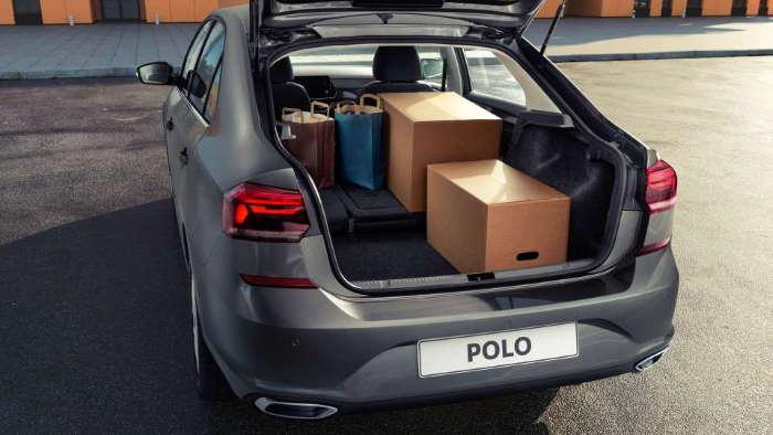 Багажник нового Фольксваген Поло