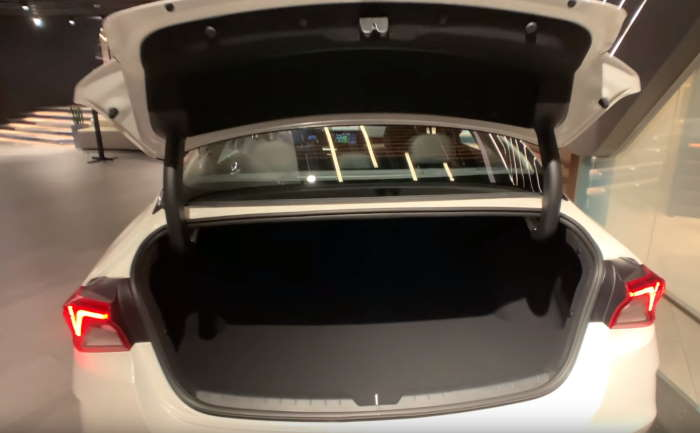 Багажник Оптима в новом кузове