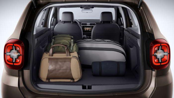 Рено Дастер 2020 в новом кузове фото багажника