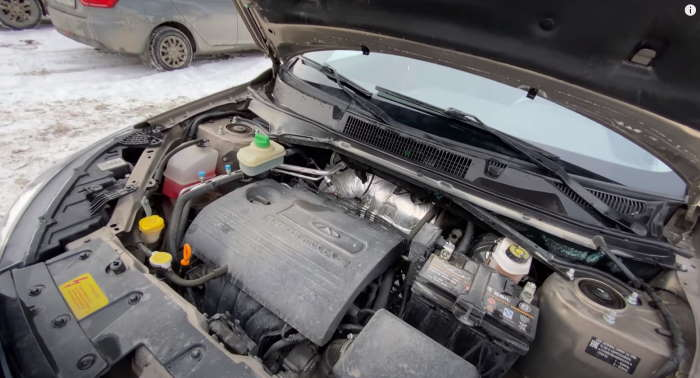Чери Тигго 3 цена, фото двигателя