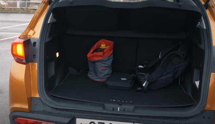 Чери Тигго 7 цена, фото багажника