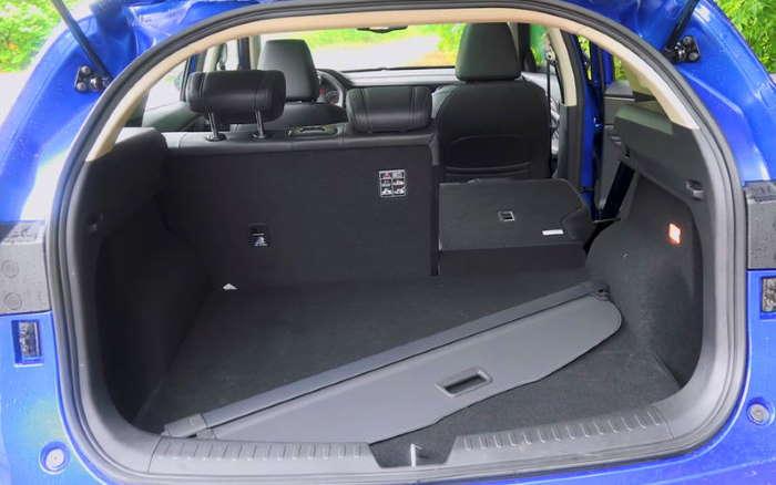 Хавал Ф7 цена и характеристики, фото багажника