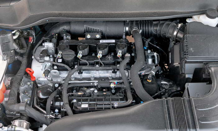 Хавал Ф7х цены и комплектации, фото двигателя