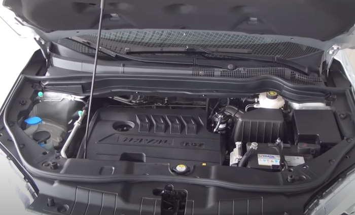Хавал н6 цена и комплектация, фото двигателя